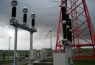 Ветровые электростанции 5х2 МВт. Таурагский район, Лауксаргю сен., дер. Грежпелкю, дер. Камщю